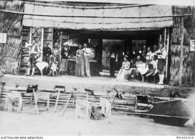 Changi Concert by Australian PoWs circa1943