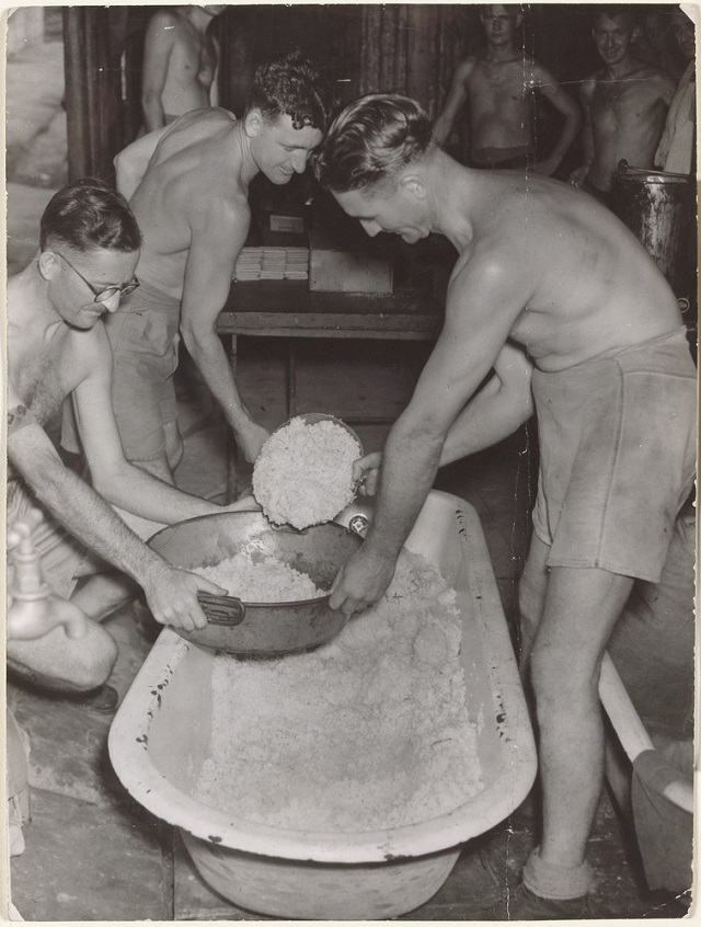 Preparing Rice in Bathtub