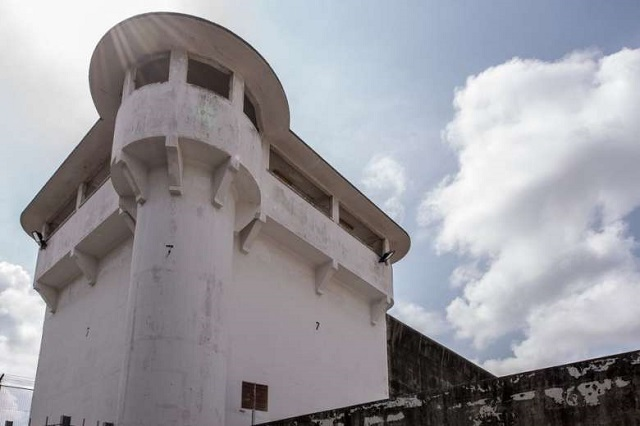 Changi Jail Turret circa 2016